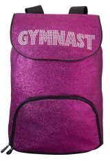 Gymnastics Backpack in Pink Sparkle