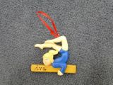 Personalized Gymnastics Christmas Ornaments