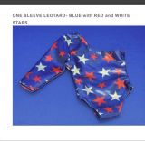 Patriotic Gymnastics Doll Leotards in Red, White, & Blue