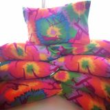 Travel Size Pillow and Fleece Pillow Cover for Gymnasts