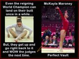 Motivational Gymnastics Poster of McKayla Maroney