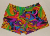 Gymnastics Shorts in Vibrant Neon Colors