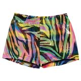 Vibrant Neon Boy Shorts for Gymnastics or Cheerleading