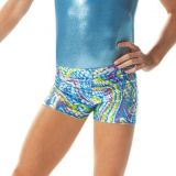 Ocean Wave Gymnastics Boy Shorts