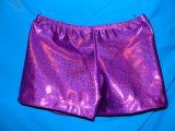 Gymnastics Shorts in Purple Twinkle