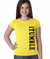 Gymnastics T-Shirt - iTUMBLE - in Yellow