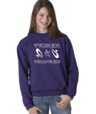 Cool, Colorful Sweatshirt for Tumbling and Trampoline