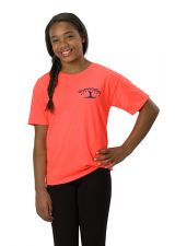 Gymnastics T-Shirt in Vibrant Orange or Aqua Blue