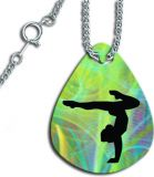Beautiful Gymnastics Pendant Necklace