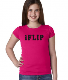 Gymnastics T-Shirt - iFLIP - in Raspberry